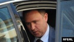 KAP Chairman Vyacheslav Krilov after an April 30 meeting