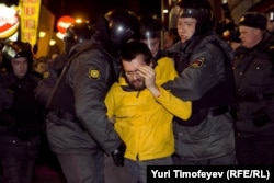 Hapšenja u Moskvi 6. decembra 2011.