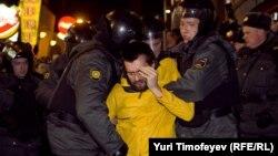 Задержания протестующих в Москве, 6 декабря 2011 года