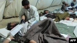 Война талибов с правительственными войсками приводит к тысячам жертв. На снимке – полевой госпиталь в Афганистане