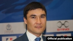 Серик Сапиев, чемпион Олимпиады в Лондоне, председатель комитета спорта и физической культуры министерства культуры и спорта Казахстана.