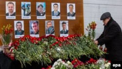 As Russia mourns those who lost their lives in a military aviation disaster, a journalist and socialite have sparked outrage with their comments about some of the victims.