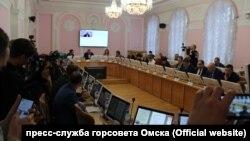 Заседание комитета горсовета Омска