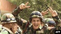 جنود أكراد في الجيش العراقي