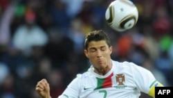 Hücumçu Cristiano Ronaldo201 Dünya Kuboku zamanı, 15 iyun 2010