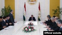 фото: официальный сайт президента Таджикистана