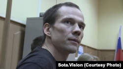 Ildar Dadin told his wife that he was in good health and that he was in transit the entire month.