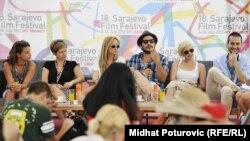 """Program """"Kafa sa..."""" na Sarajevo Film Festivalu, 8. jul 2012."""