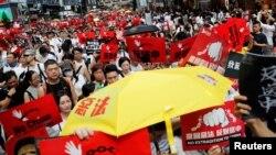 Protest u Hong Kongu 9. juna