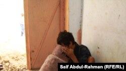 ياسر يستنشق الغاز