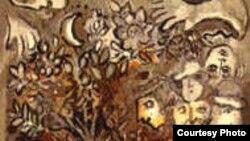 Гобелен, созданный по картине Марка Шагала