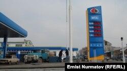 Автозаправочная станция в Оше.