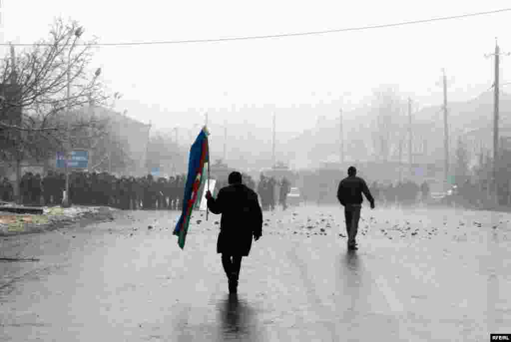Protest Violence Erupts In Azerbaijan #20