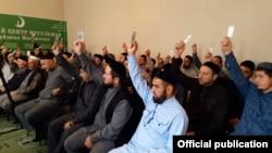 Члены Совета алимов и имамы населенных пунктов республики выбирают нового председателя ДЦМ