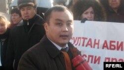 Прокурор Ескельдинского района Жасулан Еламанов.