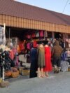 Рынок в городе Зайсан. Восточно-Казахстанская область, 7 января 2020 года