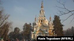 Церковь в Алматы. Иллюстративное фото.