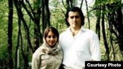 احمد باطبی و همسرش، سمیه بینات