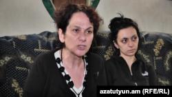 Էդգար Ծատինյանի մայրը՝ Լարիսա Եթարյանը հարցազրույց է տալիս «Ազատությանը», 16-ը ապրիլի, 2019թ․