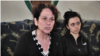 Armenia -- Larisa Ytarian (L), the mother of a man who died after police interrogation, speaks to RFE/RL in Yerevan, Aptil 16, 2019.