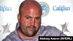 Англичанин Гари Локкерби, участник турнира Kazakhstan Open. Алматы, 8 сентября 2012 года.