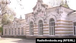 Залізничний вокзал Єнакієвого