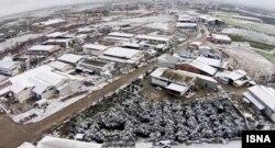 عکس هوایی از قائمشهر