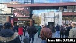Ședința tribunalului de la Haga urmărită în direct în capitala bosniacă Sarajevo