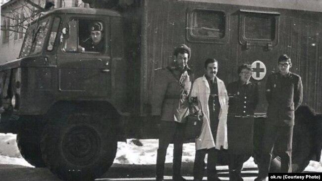 Кабул, советская медсанчасть. Из архива Татьяны Брагиной