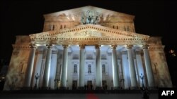 The Bolshoi Theater in Moscow was one of the sites that plunged into darkness for Earth Hour (file photo).