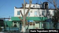 Тюрьма, в которой содержится оппозиционный политик Владимир Козлов. Поселок Заречный Алматинской области, 5 декабря 2014 года.