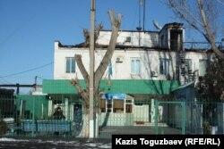Заречный түрмесінің сыртқы көрінісі. Алматы облысы. 5 желтоқсан, 2014 жыл.
