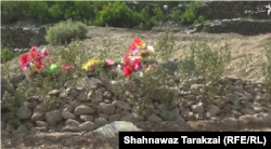 The grave of a Dawood Shah a victims of the September 16 suicide bombing in Mohmand tribal district.