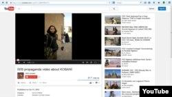 Yutubga IShID tomonidan qo'yilgan videodan tasvir.
