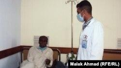 مصاب بالسل في احد مستشفيات بغداد