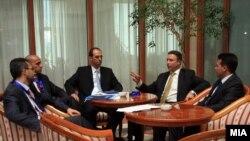 Раководството на опозициската СДСМ