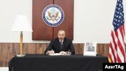 İ.Əliyev ABŞ səfirliyində