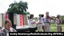 Галина Щепко з дітьми на фестивалі «Країна мрій», 10 липня 2010 року
