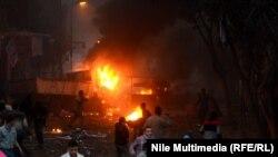 Беспорядки в Каире, 16 января 2014 года