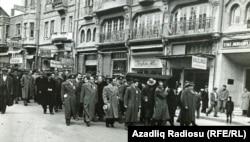 Məhəmməd Əmin Rəsulzadənin dəfni. Türkiyə, Ankara