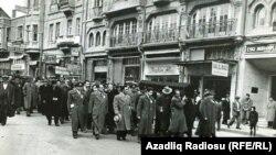 Ankarada Rəsulzadənin dəfni - 1955