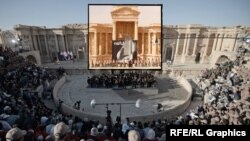 Russia staged a well-publicized concert in the amphitheater of the ancient city of Palmyra after recapturing the city earlier this year.
