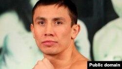 Казахстанский профессиональный боксер Геннадий Головкин.