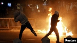 Romanian Protests Turn Violent