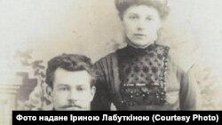 Володимир Осецький з дружиною Ольгою