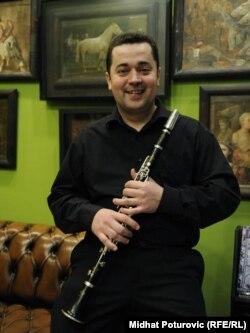 """Vedran Tuce, klarinetista kvinteta """"Per Sempre"""""""