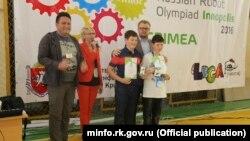 Дмитрий Полонский наградил победителей олимпиады