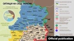 Donbasda münaqişə zonası