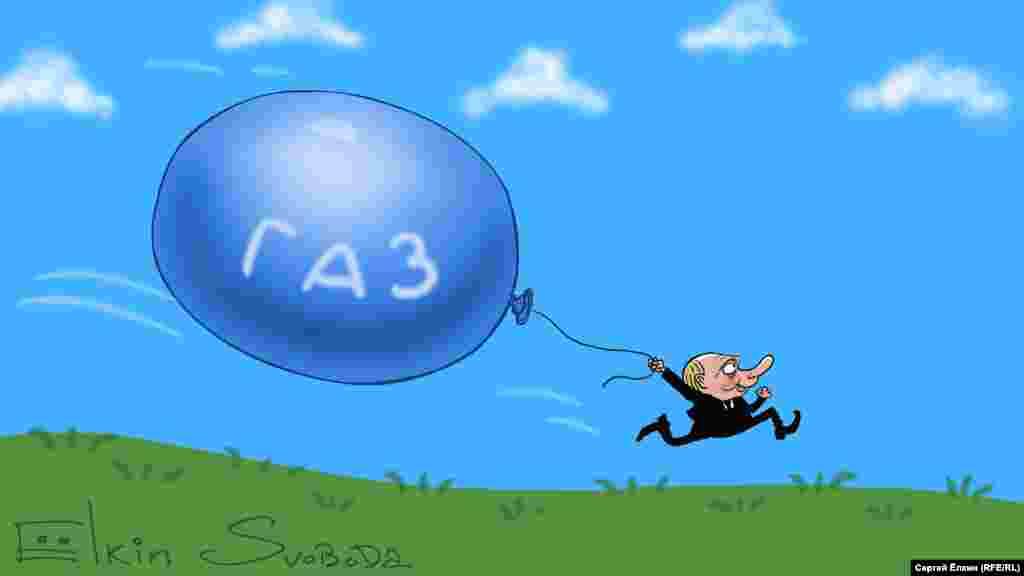 Президент Росії Володимир Путін очима російського художника Сергія Йолкіна
