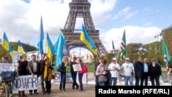 Европа --Нохчийн Машаран Марш, Париж, 11 ГIа2014
